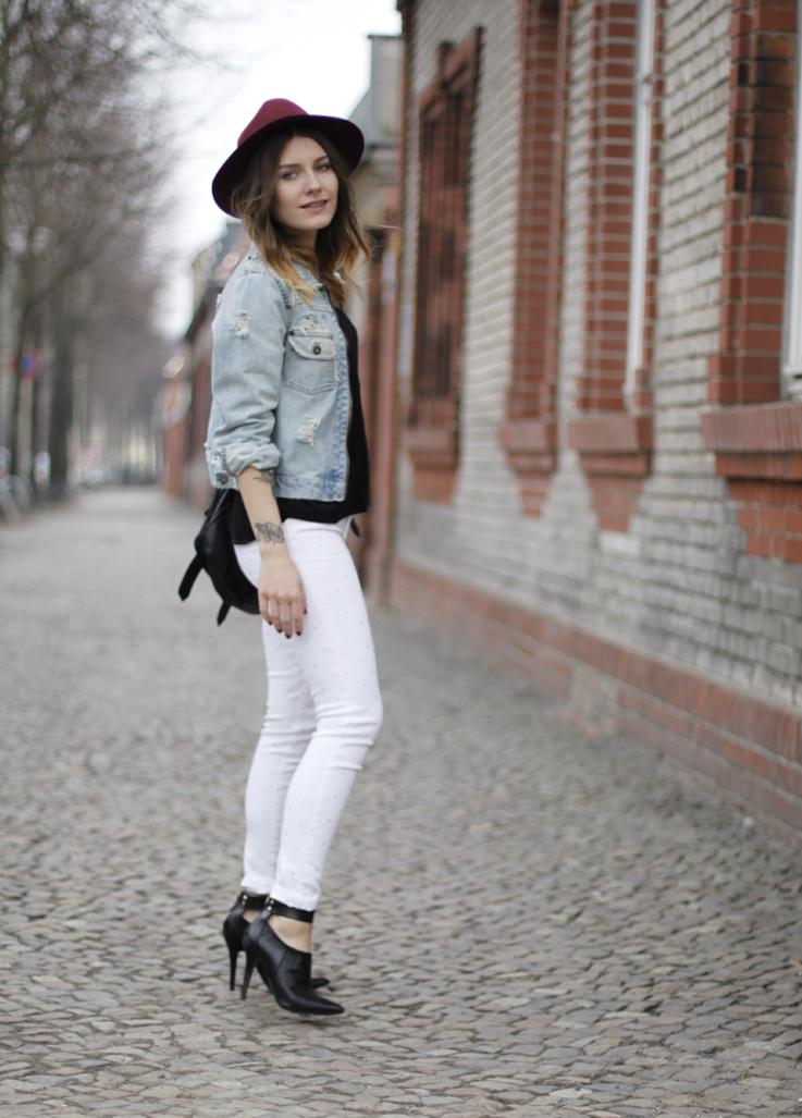 outfit: studded white pants. – Hoard of Trends – Personal Style ...