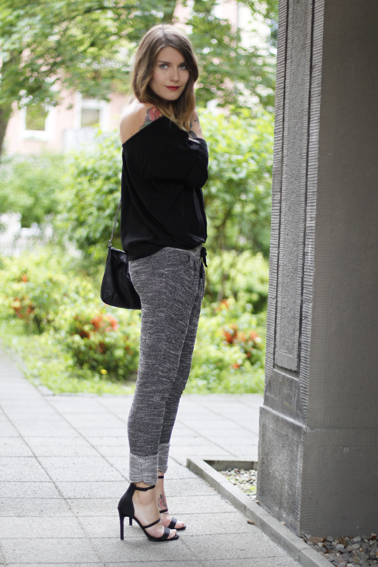 Outfit Jogging Pants And High Heels. U2013 Hoard Of Trends - Personal Style U0026 Fashion Blog ...