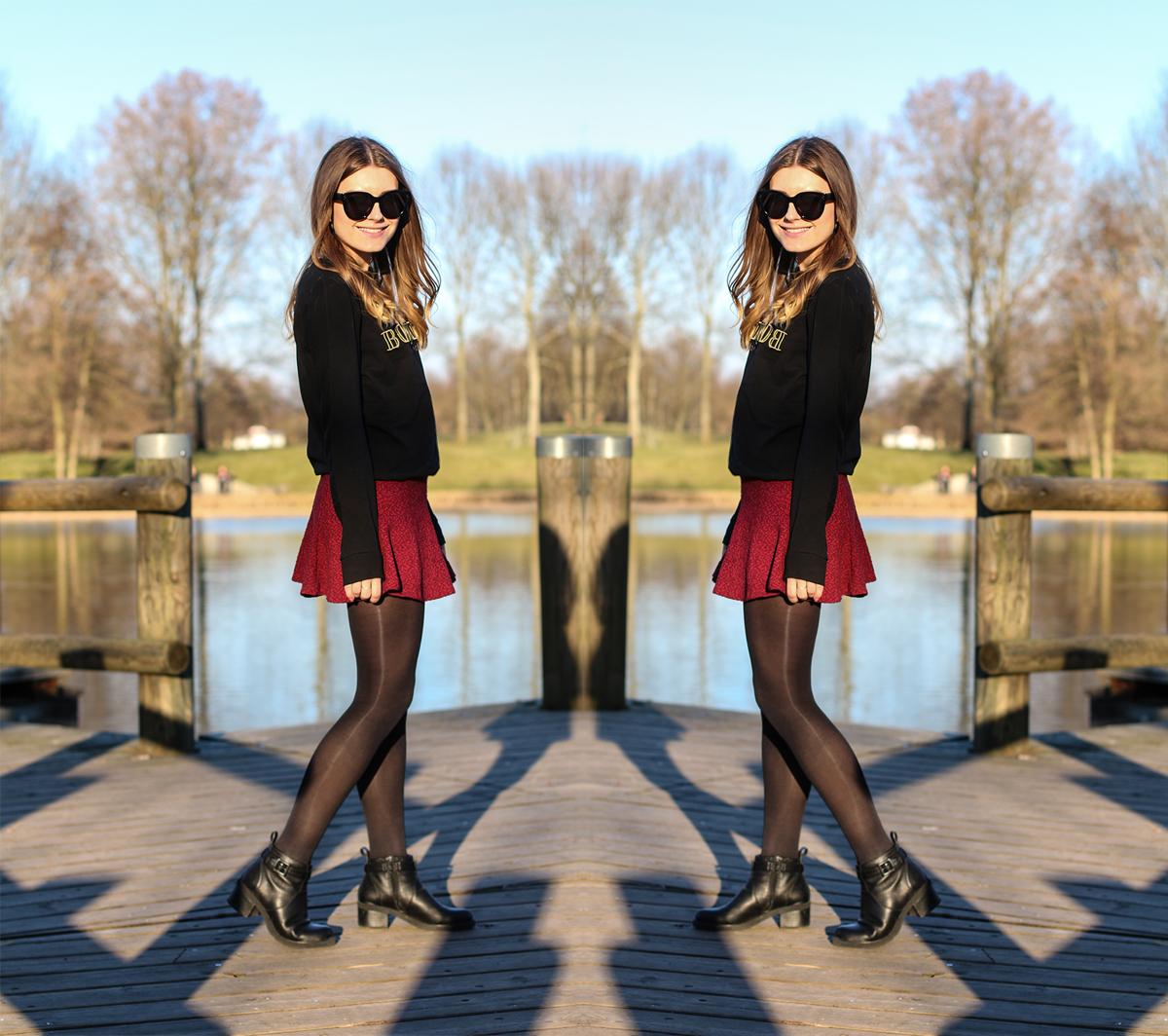 Winered_Skirt