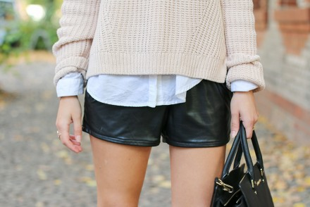 Nude_Sweater_Black_Shorts