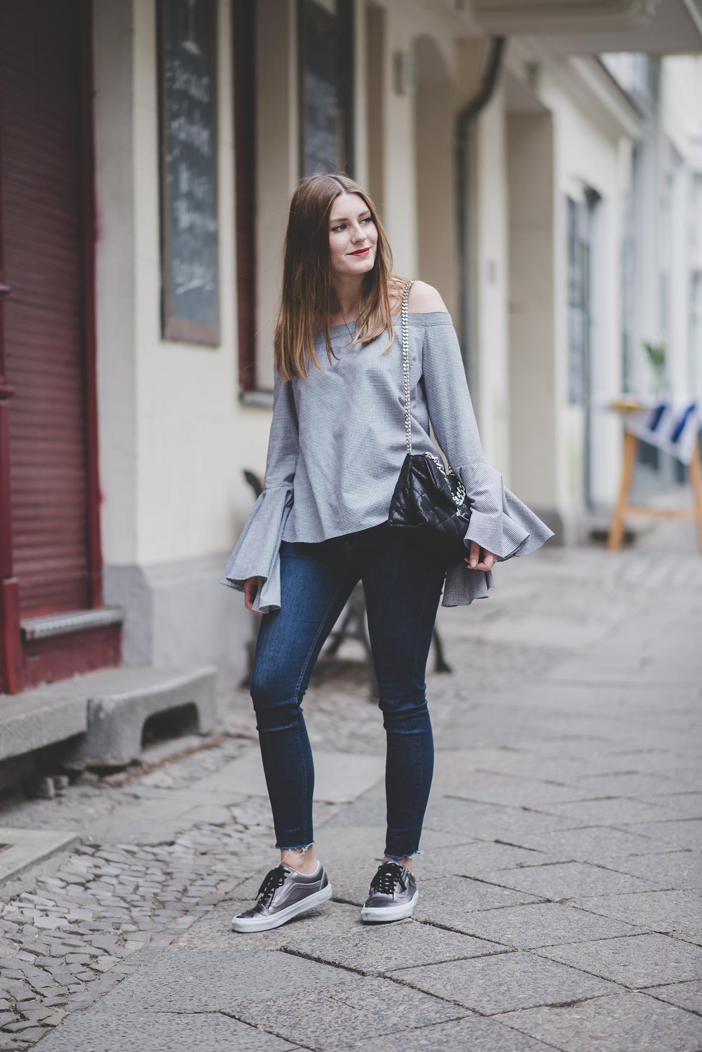 mlm label blouse & vans 1