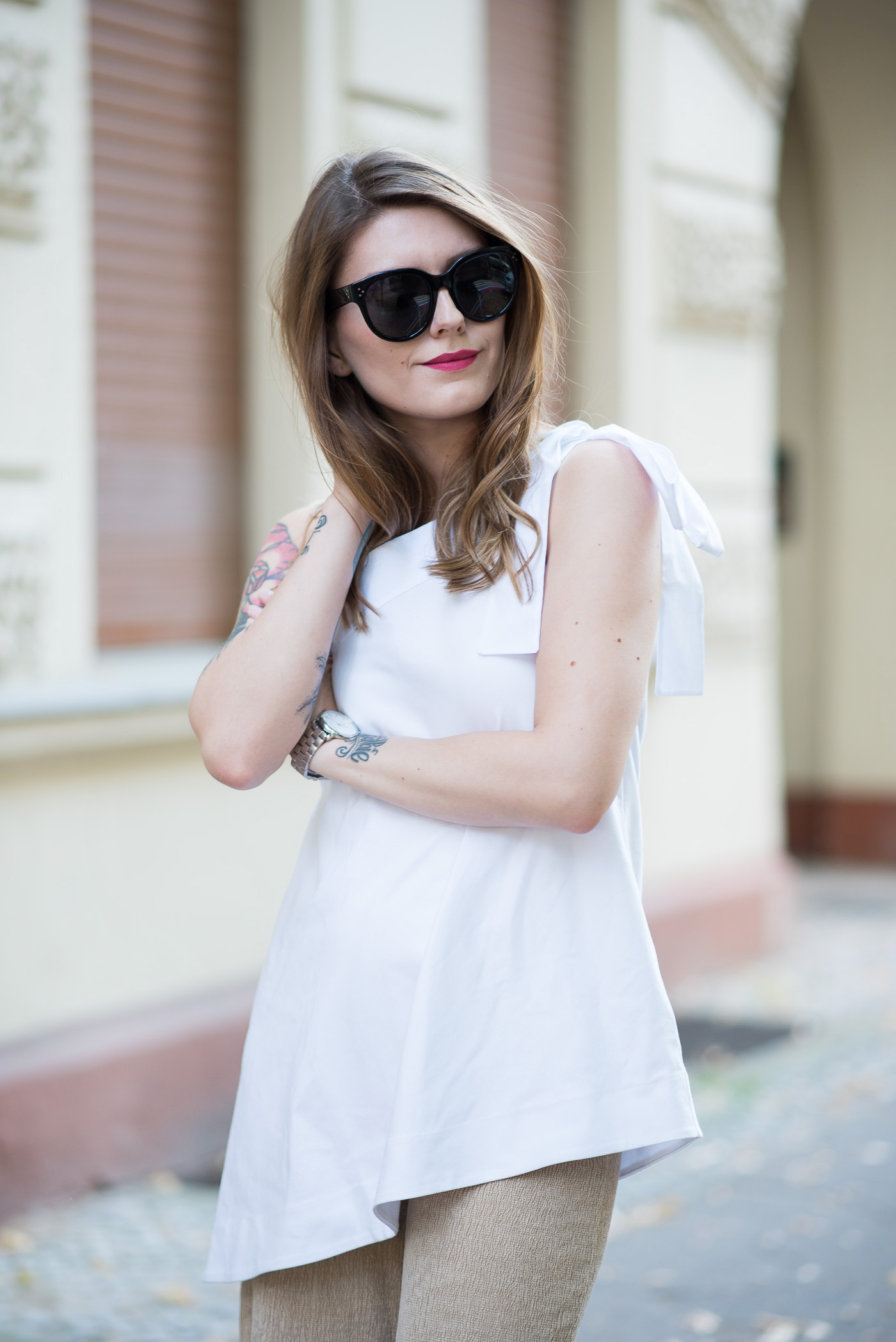 One_Shoulder_Top_Culottes_Outfit_