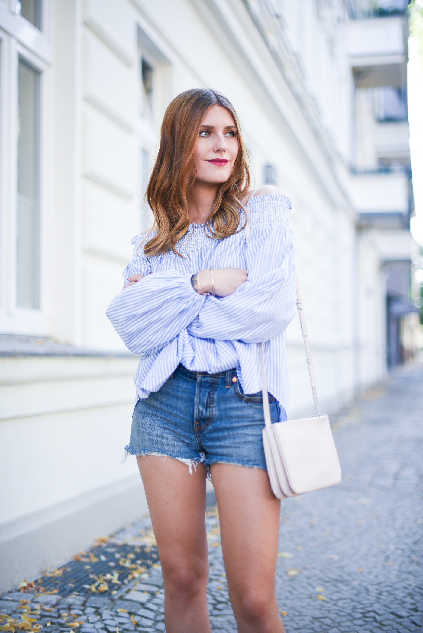 good_vibes_only_outfit_off_shoulder_zara_mules_2
